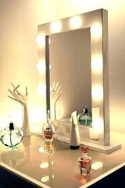 How To Make A Vanity Mirror With Lights Fascinating How To Make A Vanity Mirror With Lights Making A Vanity Mirror Led
