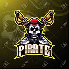 Gaming Logo Design Free Pirates Mascot Gaming Logo Design