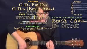 Lay Me Down Adele Guitar Lesson Chord Chart Capo 4th