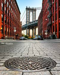 Dumbo Light Festival 2017 Manhattan Bridge Dumbo New York New York City Travel