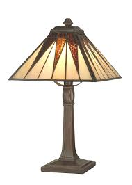 dale tiffany ta cooper accent lamp antique bronze and art