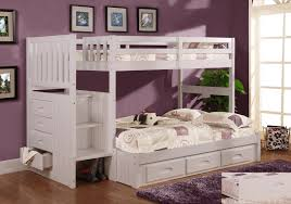 bunk bed with stairs for girls. Awesome Bedroom Furniture. Bedroom: Girls White Furniture Wonderful Bunk Beds With Stairs Bed For N