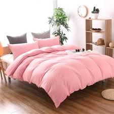 king size duvet covers pink bedding cover twin full queen bed linen cotton soft plain dyed king size duvet covers