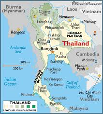 Major Map Laos The And Is Maps Travel Attractions A Thailand Tourist Where On World