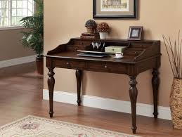 small writing table. Coaster 801511 Writing Desk - Brown Small Table E