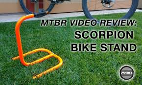 Pro Bike Display Stand Review MTBR Scorpion Bike Stand Review YouTube 7