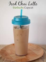 iced chai latte starbucks copycat recipe