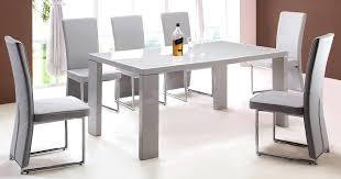 full size of habitat asper high gloss 6 seater dining table white komoro with renzo grey