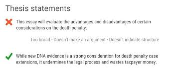 good thesis statement for discrimination
