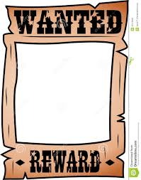 Printable Wanted Posters Template Download Them Or Print