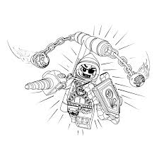 Lego Nexo Knights Coloring Pages For Kids