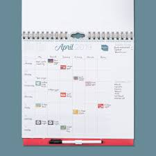 2018 2019 Family Weekly Planner Grid Family Organiser Boxclever