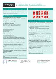 Fire Safety And Evacuation Planning Cheat Sheet By Davidpol ...