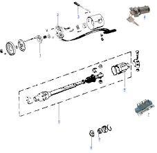 cj steering column parts 4 wheel parts