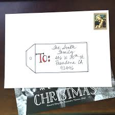 How To Address A Christmas Card How To Address Christmas Cards Magdalene Project Org