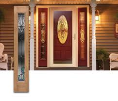 front door with sidelightSide Lights and Sidelite Windows with Stained Glass for Front Doors