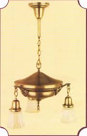 483 antique brass hanging fixture victorian series