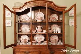 China Cabinet Literarywondrous Display Photo How To Dishes In Arrange  Displayantique