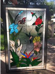 home decor tempting stained glass window panels to complete elegant