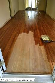 wood floor refinishing without sanding. How To Stain Hardwood Floors Without Sanding Remove From Wood . Floor Refinishing