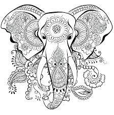 Coloring Pages Of Elephants And Giraffes Elephants Coloring Pages