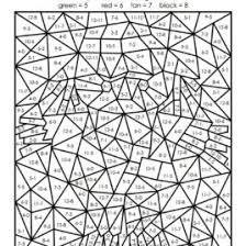 47 Printable Color By Number Pages For Adults Free Coloring Pages