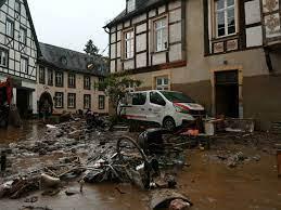 عشرات القتلى ومئات المفقودين في ألمانيا ودول أوروبية إثر عواصف أرجعها  مسؤولون للتغيرات المناخية