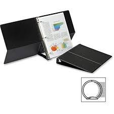 Flip Chart Horizontal Round Ring Easel Binder Amazon Com O Cardinal Brands Inc O Easel Ring Binder