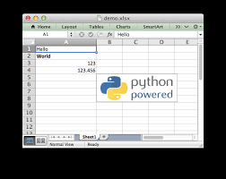 Python And Excel Writing Data Using Xlsxwriter Charlie
