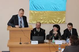 At NUCPU was defended a dissertation for a PhD degree in Public                                                                                                        Press Center NUCPU  photo     Yulia Harlamova