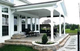 extraordinary enclosed covered patio ideas best cover outdoor flooring