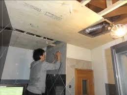 replacing bathroom ceiling diy you