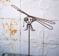 dragonfly garden stakes. Dragonfly Garden Stakes