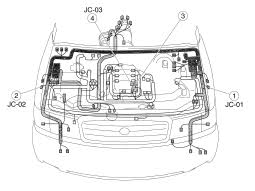 mazda mpv electrical system service and troubleshooting circuit mazda mpv wiring
