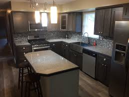 Kitchens With Grey Cabinets Best Gray Kitchen Cabinets PreAssembled Ready To Assemble RTA Cabinets