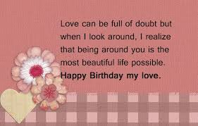 Beautiful Birthday Quotes For Him