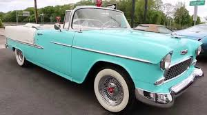 1955 Chevrolet Belair Convertible For Sale~Restored~Matching 265 ...