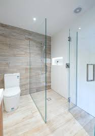 corner shower glass two sided metro performance with a hinged door and chrome square d shelves nz