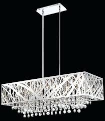 modern rectangular chandelier terrific rectangle white metal chandeliers with crystal in raindrop chan modern rectangular chandelier