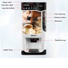 Tea Coffee Vending Machine With Coin Cool High Quality Vending Machines Coin Operated Tea Coffee Vending