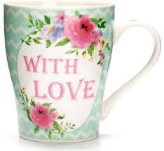 """<b>Кружка Loraine</b> """"With <b>love</b>"""", <b>340</b> мл. 26579 — купить в интернет ..."""