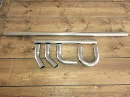 38mm diy exhaust tubing kit stainless steel