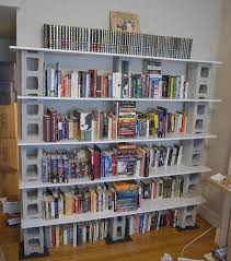 DIY Bookcase - Cinder Blocks and Wood on imgfave