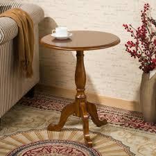 small coffee table. Solid Wood Small Round Table American Sofa Side European Minimalist Tea Coffee
