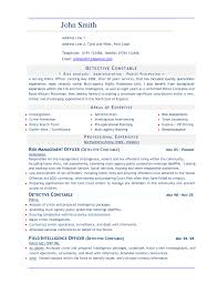 Resume Resume Models In Word Format 16 Job Template Style 1