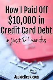 Established in 2014, fast easy debt relief has been one of the leading third party company to help with consumer finances. How To Pay Off 10 000 In Credit Card Debt In Two Years My Story