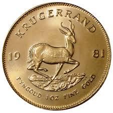 Krugerrand Gold Coins 1 Oz Gold Spot Price Current