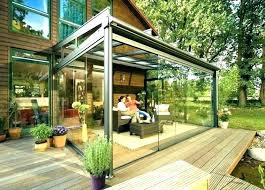 deck roof ideas. Stirring Deck Roof Ideas With Beautiful Glass Enclosed Patio