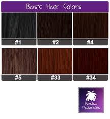 Purple Pack Hair Color Chart Human Hair Packs Basic Colors