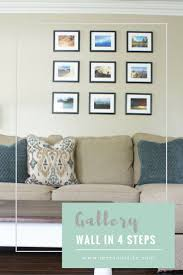 home office repin image sofa wall. a simple gallery wall here are 4 easy steps to create budget friendly home office repin image sofa